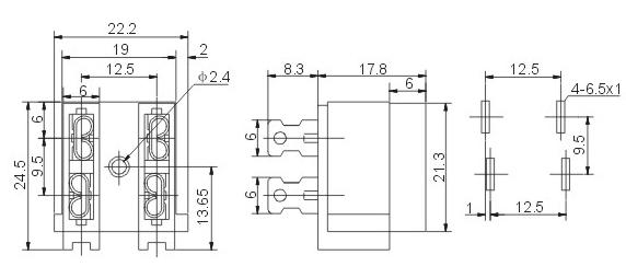 2a250v保险丝电路图