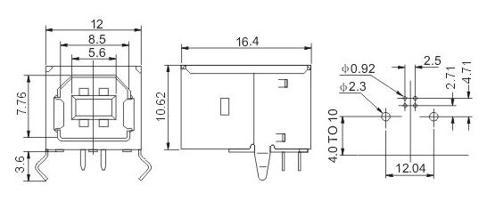 vga15孔母座内部电路图