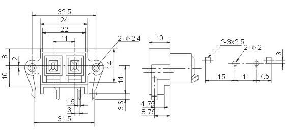 限位器接线原理图