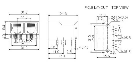 35插口 d-s端子 wp外接线插座