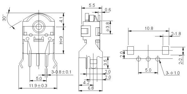 首页 电子元器件 集成电路(ic) 编码器  electrical mechancai