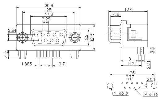 15针vga接口接线图