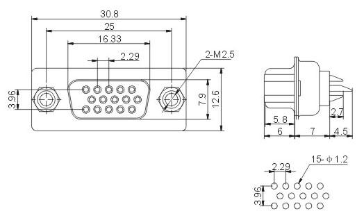 9针485接口接线图